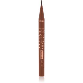 Catrice Brow Definer Brush Pen Longlasting creion pentru sprancene imagine produs