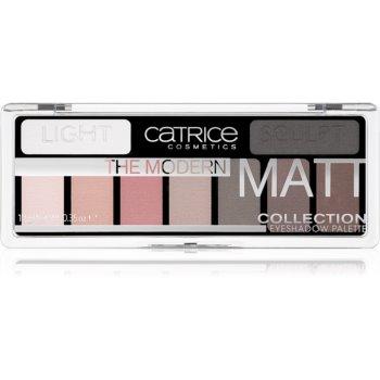 Catrice The Modern Matt Collection paleta farduri de ochi