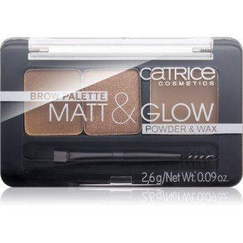 Catrice Matt & Glow kit pentru sprâncene