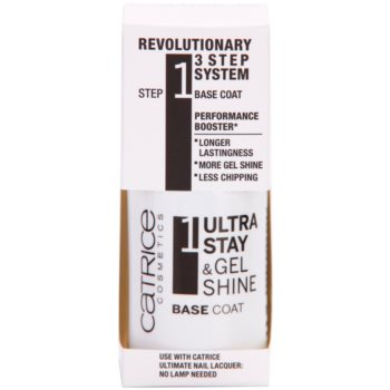 Catrice Ultra Stay & Gel Shine podlak za nohte za oprijem laka 1