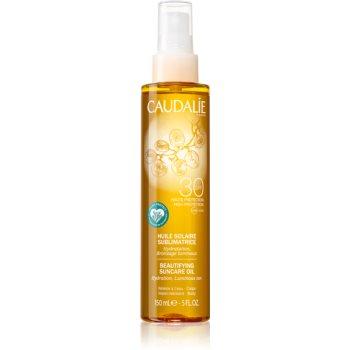 Caudalie Suncare Ulei bronzant hidratant sub forma de spray SPF 30