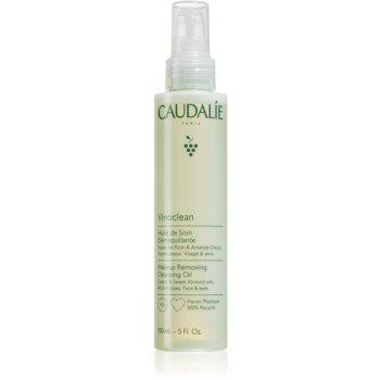 Caudalie Vinoclean ulei pentru indepartarea machiajului Ulei de curățare pentru față și ochi