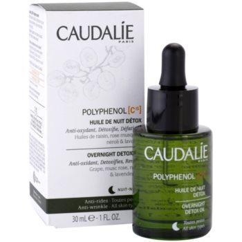 Caudalie Polyphenol C15 детоксикиращо нощно олио против бръчки 1