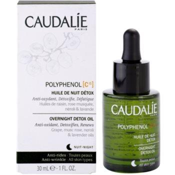 Caudalie Polyphenol C15 детоксикиращо нощно олио против бръчки 2