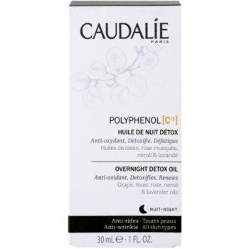 Caudalie Polyphenol C15 детоксикиращо нощно олио против бръчки 3