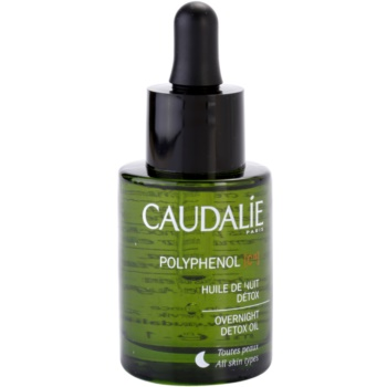 Caudalie Polyphenol C15 детоксикиращо нощно олио против бръчки