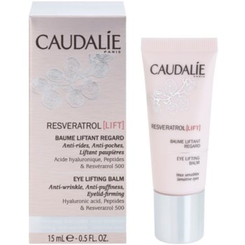 Caudalie Resveratrol Lift стягащ околоочен балсам против бръчки, отоци и черни кръгове 1