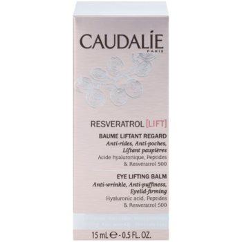 Caudalie Resveratrol Lift стягащ околоочен балсам против бръчки, отоци и черни кръгове 2