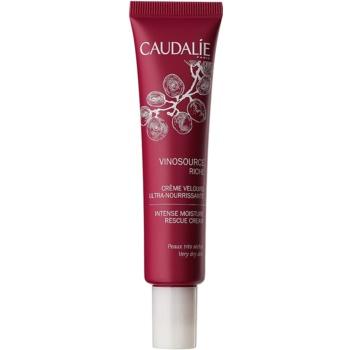 Caudalie Vinosource crema intens hidratanta pentru piele foarte uscata