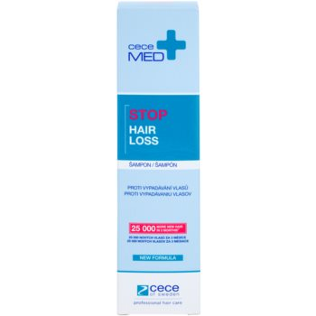 Cece of Sweden Cece Med  Stop Hair Loss sampon impotriva caderii parului 2