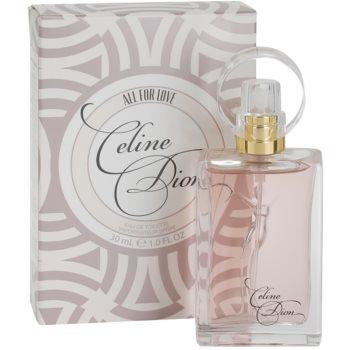 Celine Dion All for Love Eau de Toilette para mulheres 1