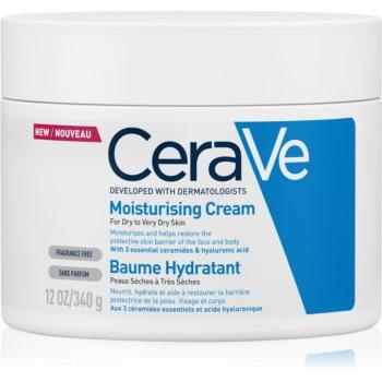 CeraVe Moisturizers Crema hidratanta pentru fata si corp pentru pielea uscata sau foarte uscata  340 g