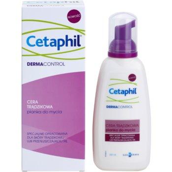 Cetaphil DermaControl spuma de curatat pentru tenul gras, predispus la acnee 1