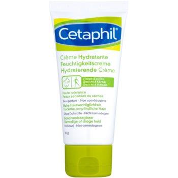 Cetaphil Moisturizers Crema hidratanta pentru fata si corp pentru piele uscata spre sensibila  85 ml