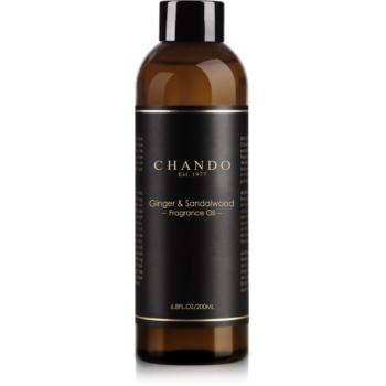 Chando Fragrance Oil Ginger & Sandalwood reumplere în aroma difuzoarelor 200 ml