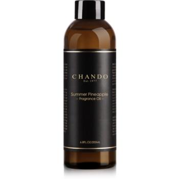 Chando Fragrance Oil Summer Pineapple reumplere în aroma difuzoarelor 200 ml
