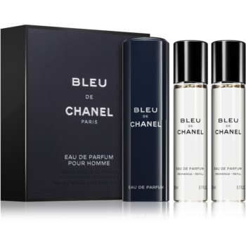 Chanel Bleu de Chanel eau de parfum pentru barbati 3 x 20 ml 3 reincarcari