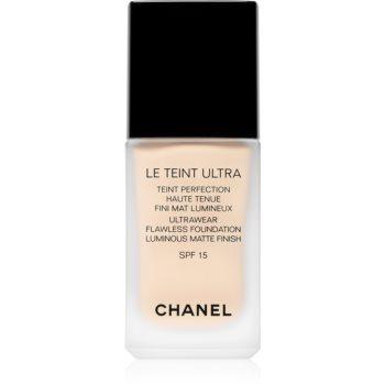Chanel Le Teint Ultra machiaj matifiant de lungă durată SPF 15