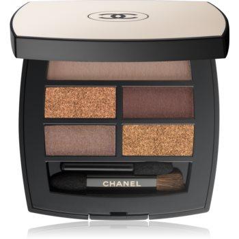 Chanel Les Beiges paleta očních stínů Deep 4,5 g