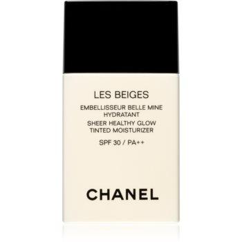 Chanel Les Beiges cremă hidratantă nuanțatoare, cu efect de iluminare SPF 30