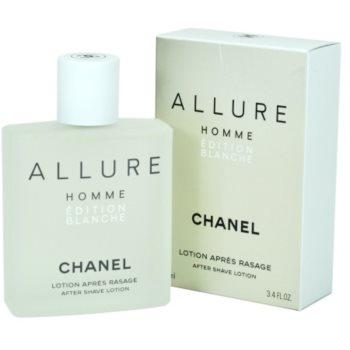 Chanel Allure Homme Édition Blanche after shave pentru barbati 100 ml