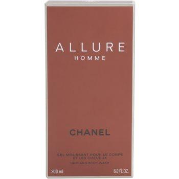Chanel Allure Homme gel za prhanje za moške 3