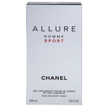 Chanel Allure Homme Sport гель для душу для чоловіків 2