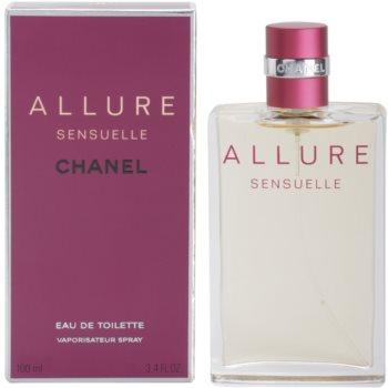 Chanel Allure Sensuelle Eau de Toilette pentru femei 100 ml