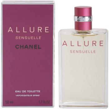 Chanel Allure Sensuelle eau de toilette pentru femei 50 ml