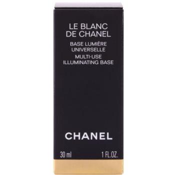 Chanel Le Blanc de Chanel основа 3