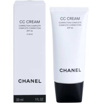 Chanel CC Cream creme unificador SPF 50 1