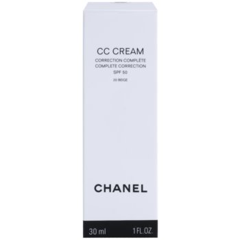 Chanel CC Cream creme unificador SPF 50 2