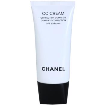 Chanel CC Cream krem ujednolicający SPF 30