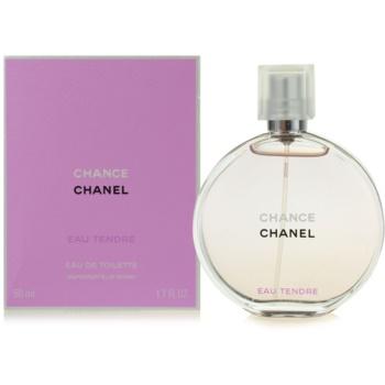 Chanel Chance Eau Tendre eau de toilette pentru femei 50 ml