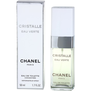 Chanel Cristalle Eau Verte Concentrée eau de toilette pentru femei 50 ml