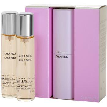 Fotografie Chanel Chance - EDT (3 x 20 ml) 60 ml
