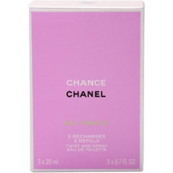 Chanel Chance Eau Fraiche Eau de Toilette für Damen  (3 x Füllung) 2