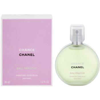 Chanel Chance Eau Fraîche spray parfumat pentru par pentru femei 35 ml