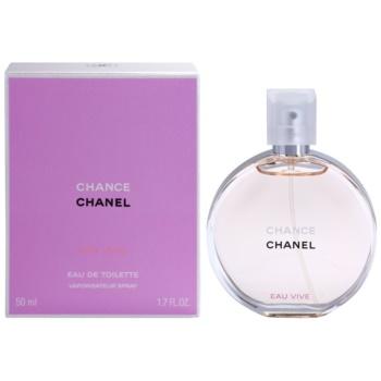 Chanel Chance Eau Vive Eau de Toilette pentru femei