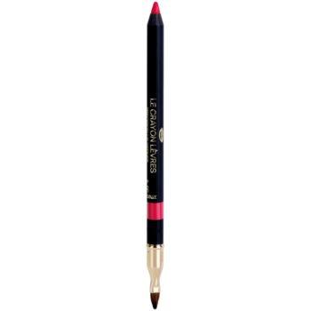 Fotografie Chanel Le Crayon Levres konturovací tužka na rty s ořezávátkem odstín 55 Fuchsia 1 g