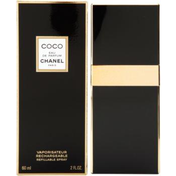 Chanel Coco parfemovaná voda pro ženy 60 ml plnitelná