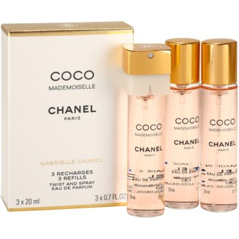 Chanel Coco Mademoiselle Eau de Parfum für Damen  (3 x Füllung) 1