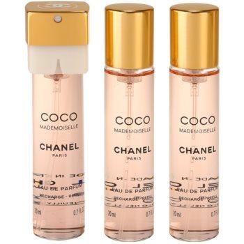 Chanel Coco Mademoiselle Eau de Parfum für Damen  (3 x Füllung) 2