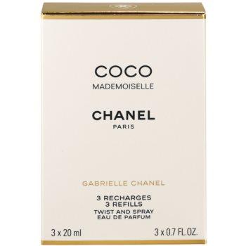 Chanel Coco Mademoiselle Eau de Parfum für Damen  (3 x Füllung) 3