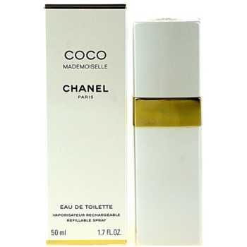 Chanel Coco Mademoiselle eau de toilette pentru femei 50 ml reincarcabil