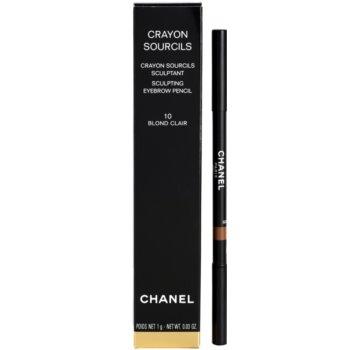 Chanel Crayon Sourcils lápis de sobrancelhas com apontador 2