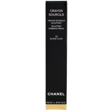 Chanel Crayon Sourcils lápis de sobrancelhas com apontador 5