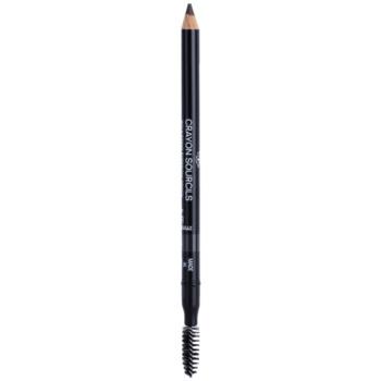 Chanel Crayon Sourcils tužka na obočí s ořezávátkem odstín 40 Brun Cendré 1 g