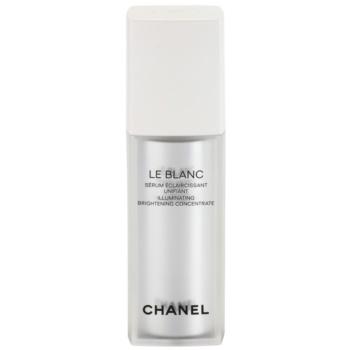 Chanel Le Blanc ser cu efect iluminator impotriva petelor