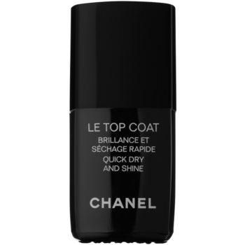 Chanel Le Top Coat vrchní ochranný lak na nehty s leskem 13 ml